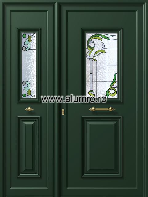Usa din aluminiu pentru exterior - P159 - P158 vitroAgreen ALUMINCO - Poza 35