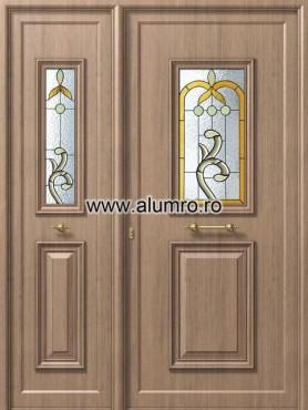 Usa din aluminiu pentru exterior - P159 - P158 vitroBbrown ALUMINCO - Poza 36