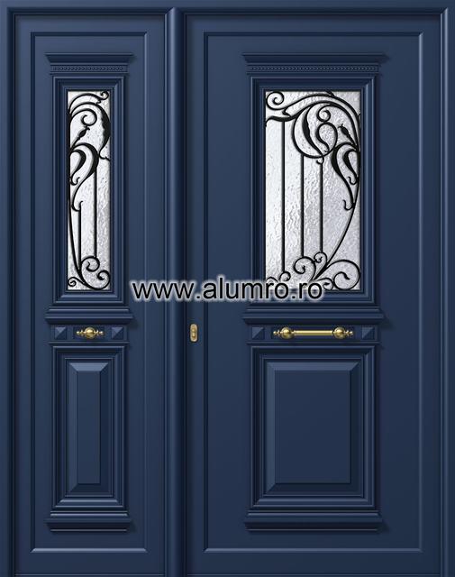 Usa din aluminiu pentru exterior - P175k - P170k ALUMINCO - Poza 44