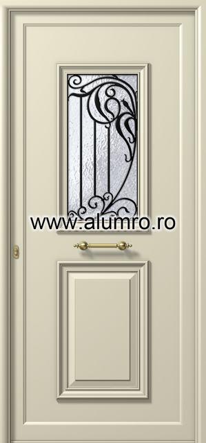Usa din aluminiu pentru exterior - P181 ALUMINCO - Poza 47