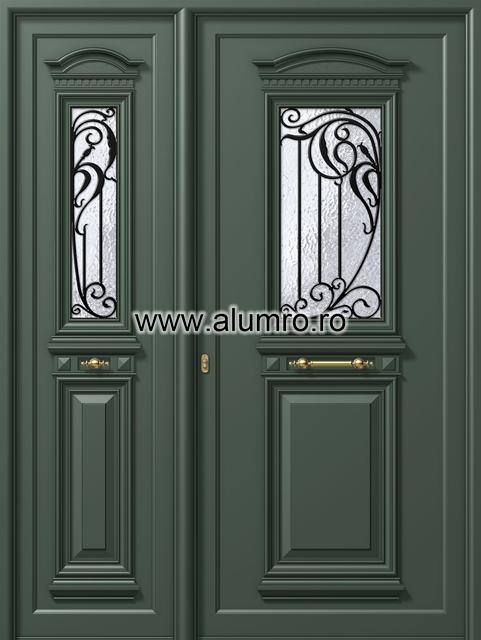 Usa din aluminiu pentru exterior - P185 - P180 ALUMINCO - Poza 50