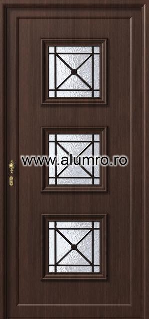 Usa din aluminiu pentru exterior - P193 ALUMINCO - Poza 53