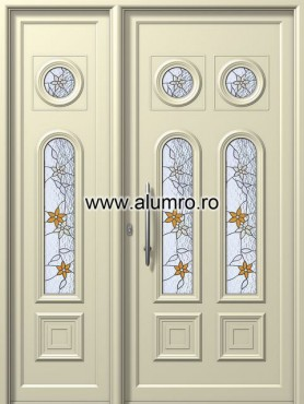 Usa din aluminiu pentru exterior - E212-E204 Vitro1 ALUMINCO - Poza 3