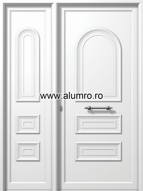 Usa din aluminiu pentru exterior - E504-E512 ALUMINCO - Poza 4