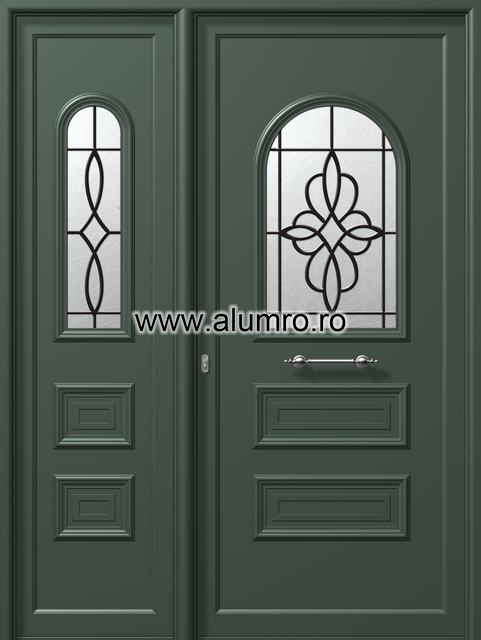 Usa din aluminiu pentru exterior - E509-E515 safe 1 ALUMINCO - Poza 14