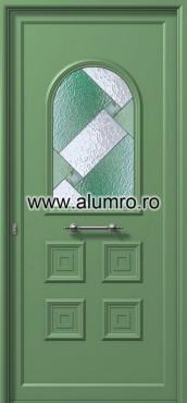 Usa din aluminiu pentru exterior - E516 vitro 3 ALUMINCO - Poza 17