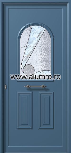 Usa din aluminiu pentru exterior - E518 vitro ALUMINCO - Poza 18
