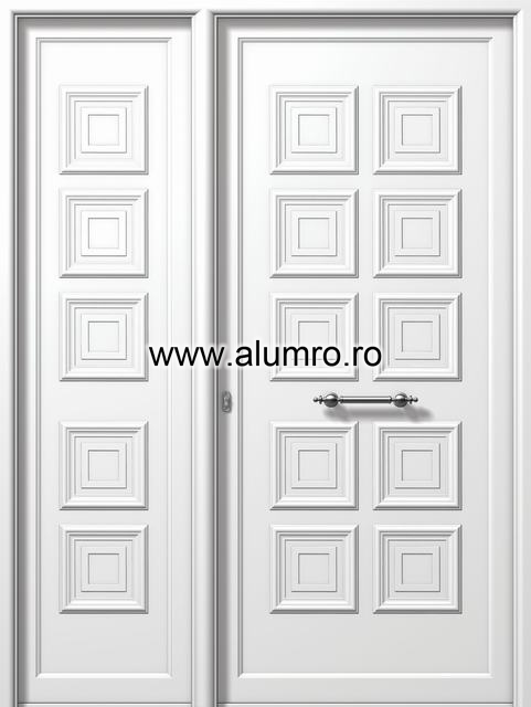 Usa din aluminiu pentru exterior - E520-E820 ALUMINCO - Poza 19
