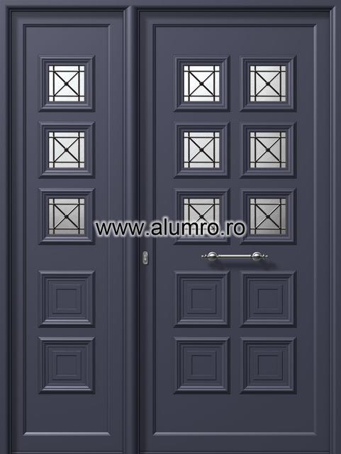 Usa din aluminiu pentru exterior - E523-E82 6safe ALUMINCO - Poza 20