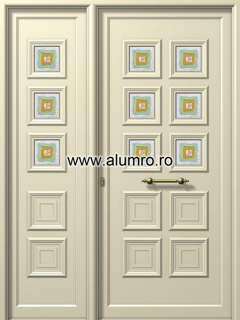 Usa din aluminiu pentru exterior - E523-E826 fused3 ALUMINCO - Poza 21
