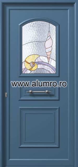 Usa din aluminiu pentru exterior - E533 vitro 2 ALUMINCO - Poza 34