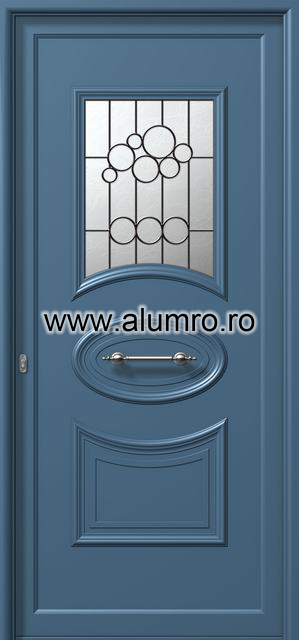 Usa din aluminiu pentru exterior - E535 safe ALUMINCO - Poza 38