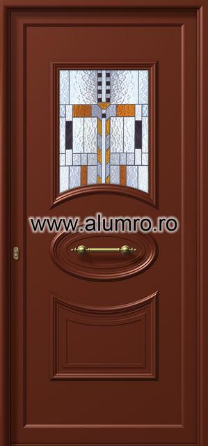 Usa din aluminiu pentru exterior - E535 vitro 1 ALUMINCO - Poza 39