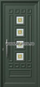 Usa din aluminiu pentru exterior - E537 fused 3 ALUMINCO - Poza 42