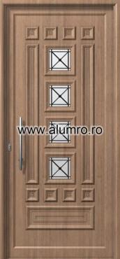 Usa din aluminiu pentru exterior - E537 safe ALUMINCO - Poza 43