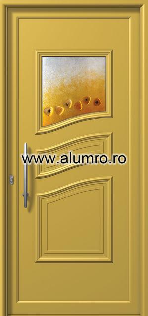 Usa din aluminiu pentru exterior - E546 fused 1 ALUMINCO - Poza 52