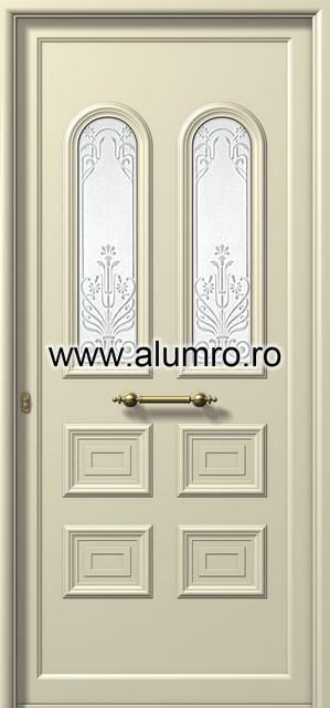 Usa din aluminiu pentru exterior - E551 ammovoli ALUMINCO - Poza 57