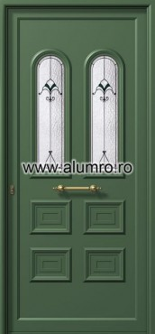Usa din aluminiu pentru exterior - E551 deco 1 ALUMINCO - Poza 58