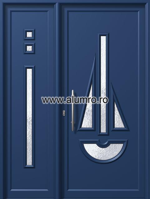 Usa din aluminiu pentru exterior - E563-E878 ALUMINCO - Poza 66