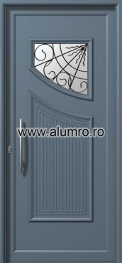 Usa din aluminiu pentru exterior - E565 safe ALUMINCO - Poza 70