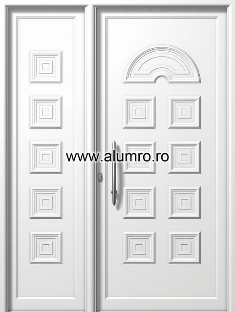 Usa din aluminiu pentru exterior - E572-E566 ALUMINCO - Poza 71