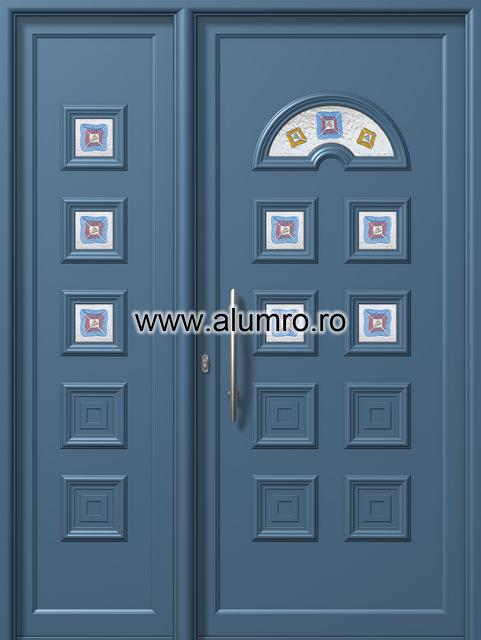 Usa din aluminiu pentru exterior - E575-E569 fused 6 ALUMINCO - Poza 72