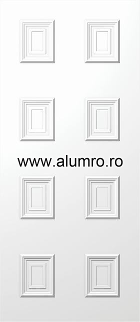 Usa din aluminiu pentru exterior - E598 ALUMINCO - Poza 85