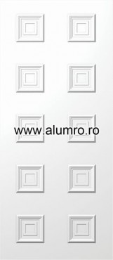 Usa din aluminiu pentru exterior - E599 ALUMINCO - Poza 86