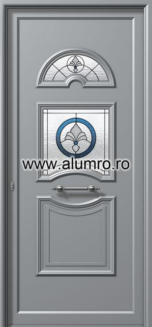 Usa din aluminiu pentru exterior - E702 deco 3 ALUMINCO - Poza 88