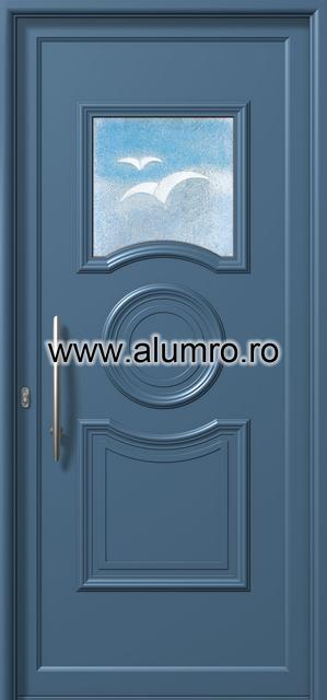 Usa din aluminiu pentru exterior - E711 fused 4 ALUMINCO - Poza 91