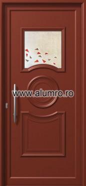 Usa din aluminiu pentru exterior - E711 fused 5 ALUMINCO - Poza 92