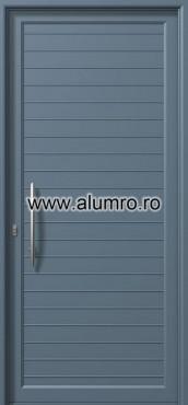 Usa din aluminiu pentru exterior - E714 ALUMINCO - Poza 95