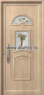 Usa din aluminiu pentru exterior - E727 fused 9 ALUMINCO - Poza 99