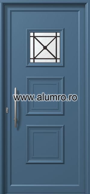 Usa din aluminiu pentru exterior - E729 safe ALUMINCO - Poza 103