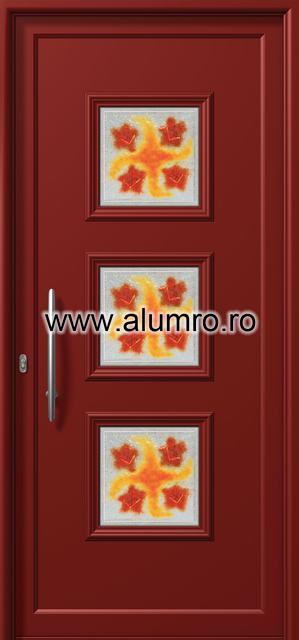 Usa din aluminiu pentru exterior - E731 fused 1 ALUMINCO - Poza 104