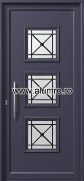 Usa din aluminiu pentru exterior - E731 safe ALUMINCO - Poza 105