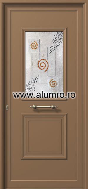 Usa din aluminiu pentru exterior - E741 fused 2 ALUMINCO - Poza 107