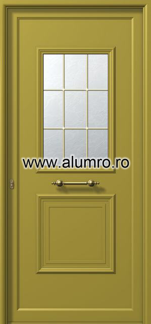 Usa din aluminiu pentru exterior - E741 kaiti ALUMINCO - Poza 108