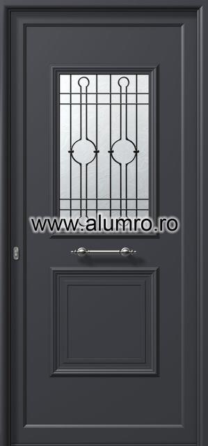 Usa din aluminiu pentru exterior - E741 safe 3 ALUMINCO - Poza 111