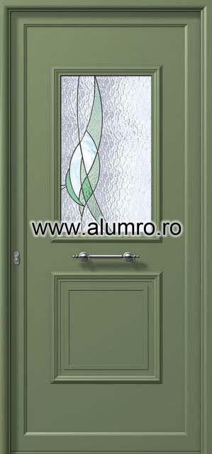 Usa din aluminiu pentru exterior - E741 vitro 1 ALUMINCO - Poza 112