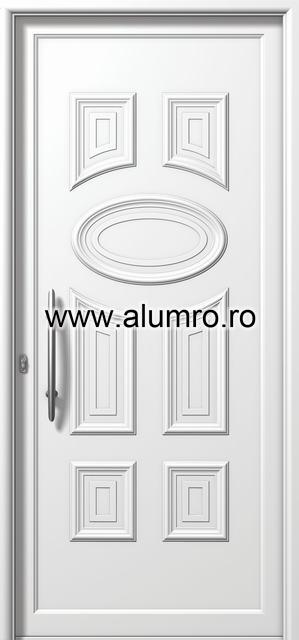 Usa din aluminiu pentru exterior - E750 ALUMINCO - Poza 113