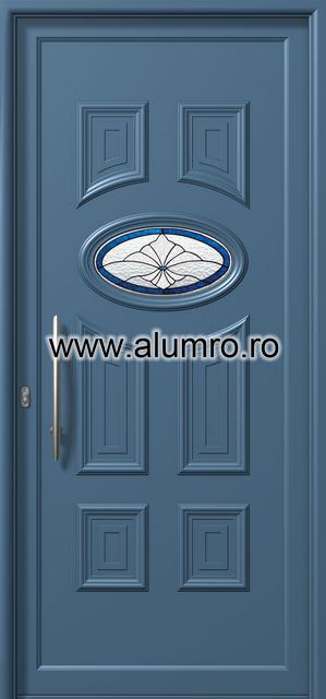 Usa din aluminiu pentru exterior - E751 deco 1 ALUMINCO - Poza 114