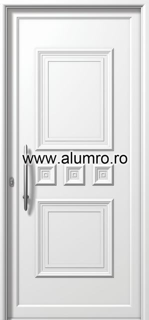 Usa din aluminiu pentru exterior - E760 ALUMINCO - Poza 116