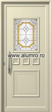 Usa din aluminiu pentru exterior - E761 deco 1 ALUMINCO - Poza 117