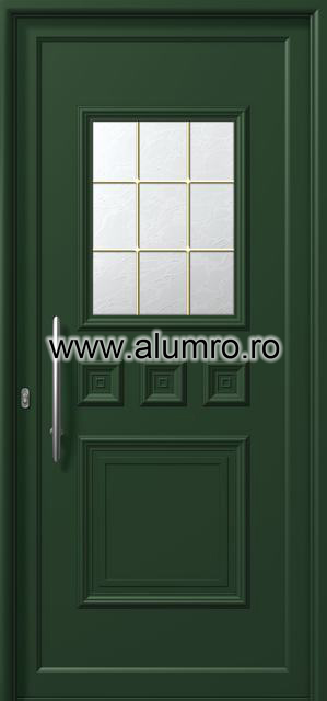 Usa din aluminiu pentru exterior - E761 kaiti ALUMINCO - Poza 119