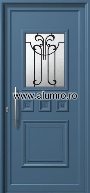 Usa din aluminiu pentru exterior - E761 safe 5 ALUMINCO - Poza 120