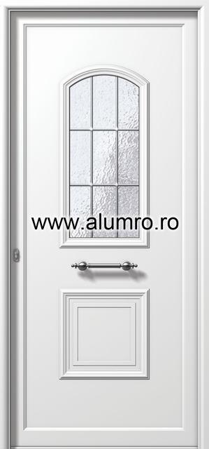 Usa din aluminiu pentru exterior - E771 kaiti inox ALUMINCO - Poza 122