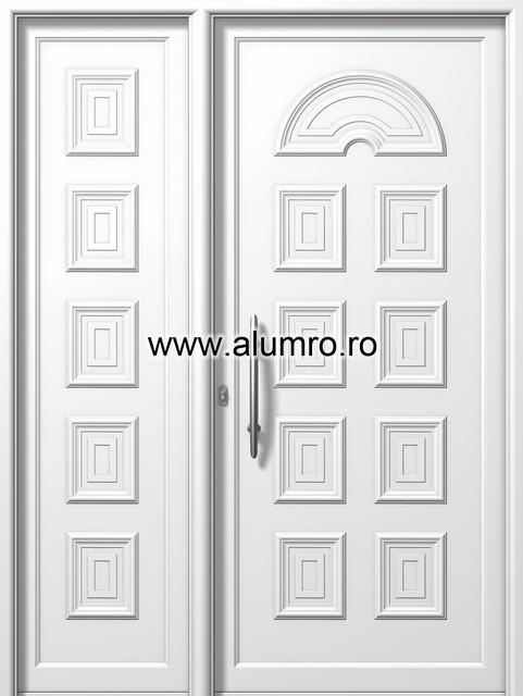 Usa din aluminiu pentru exterior - E800-E803 ALUMINCO - Poza 138