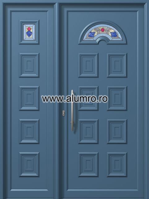 Usa din aluminiu pentru exterior - E801-E807 decoperla ALUMINCO - Poza 139