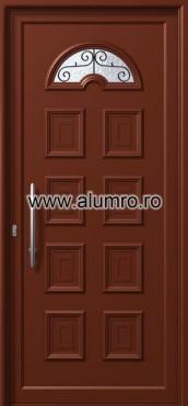 Usa din aluminiu pentru exterior - E807 safe 4 ALUMINCO - Poza 141